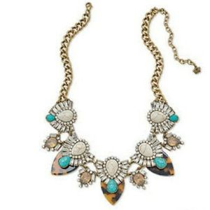 NWT Premier Designs Teal The Show Necklace #14